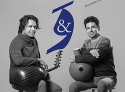 Music duo Amir-Farhang Eskandari (L) and Zakaria Yusefi.