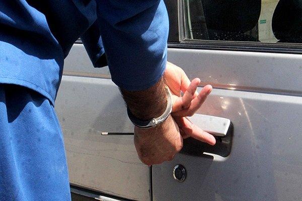 دستگیری مالخر ماکسیما مسروقه جردن در مشیریه
