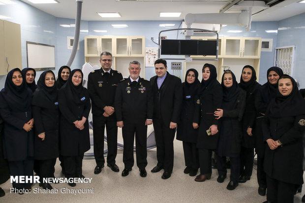 افتتاح قسم القلب والاطفال لمسشفى تابع للقوة البحرية الايرانية