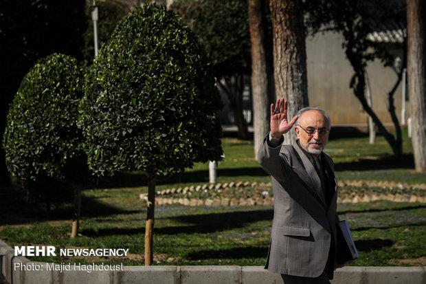 اجتماع مجلس الوزراء الايراني ولت
