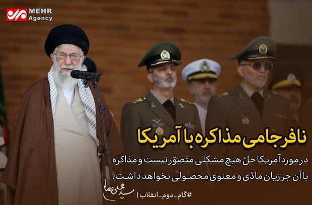 «ایران»، «اسلام» و «جوانان» کلمات پرتکرار بیانیه #گام_دوم_انقلاب