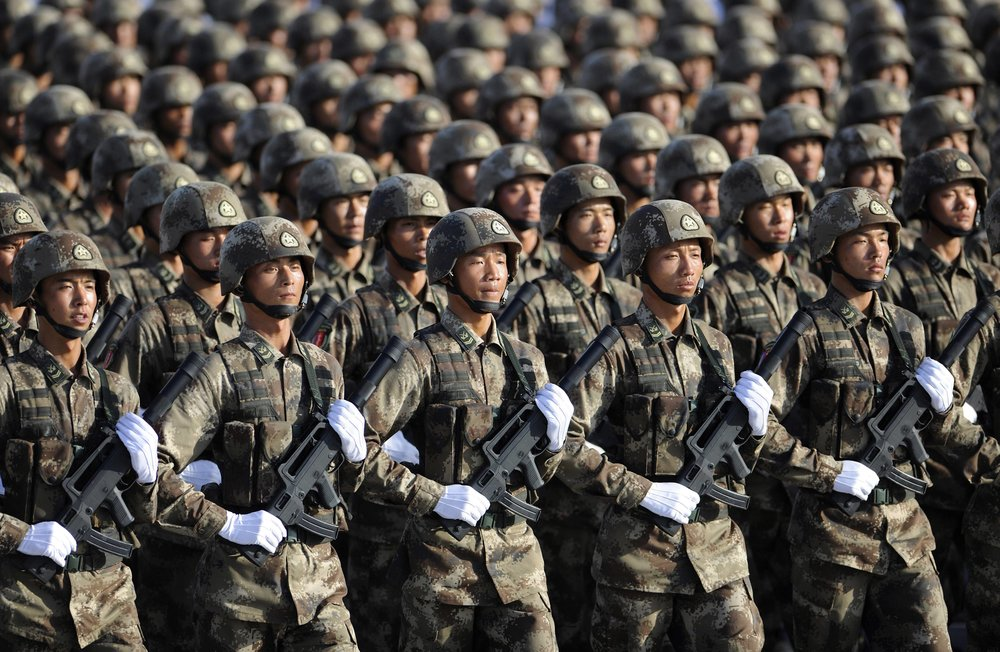 China to strengthen military training and enhance combat readiness