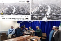 عکاس خبرگزاری مهر استان همدان تجلیل شد