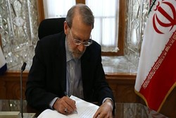 Larijani offers congratulations on booking Olympics ticket by Iran basketball