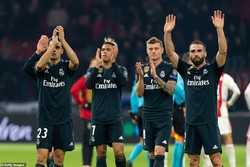 دیدار تیم های فوتبال آژاکس و رئال مادرید
