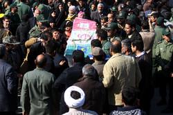 مراسم تشییع پیکر شهدای کاشانی مدافع امنیت یکشنبه برگزار میشود