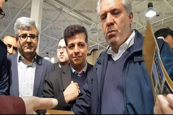 رئیس سازمان میراث فرهنگی وارد همدان شد