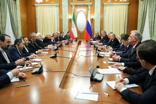 Pres. Rouhani says Tehran, Moscow moving towards strategic relations