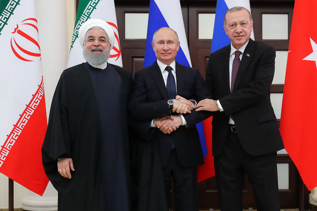 Joint statement by presidents of Iran, Russia and Turkey at end of Sochi summit