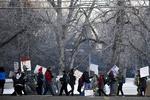 اعتقال محتجين على توقيع ترامب قانون الطوارئ