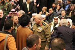 مراسم چهلمین سالگرد پیروزی انقلاب اسلامی در حمص سوریه