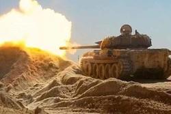 صوبہ حماہ میں شامی فوج کی دہشت گردوں کے خلاف کارروائی