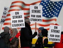 ABD'de binlerce öğretmen grev yaptı