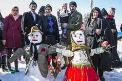 جشنواره آدم برفی در خراسان شمالی
