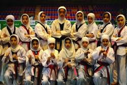 دختران تکواندوکار لرستان بر سکوی سوم مسابقات کشوری ایستادند