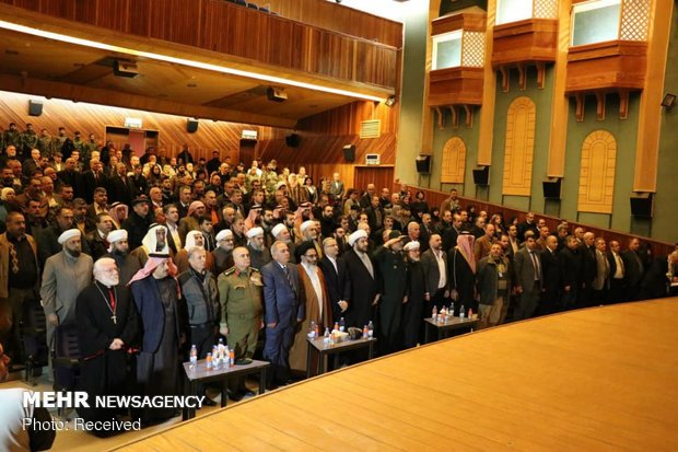 commemoration of 40th anniv. of Islamic Revolution in Homs