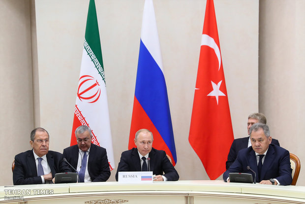 Heads of Syria peace guarantor states meet in Sochi