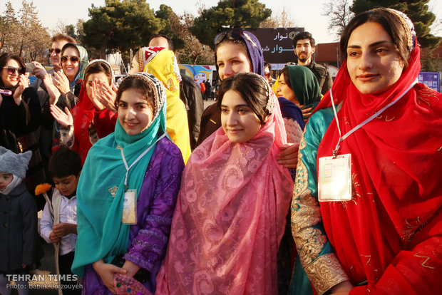 A day in the 12th Tehran tourism exhibit