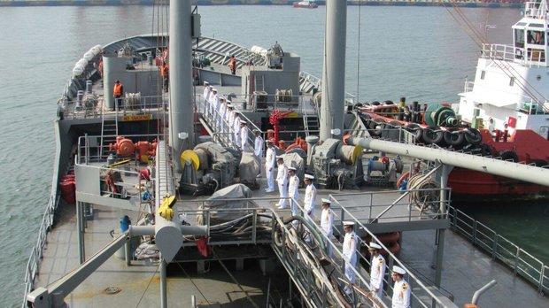 Navy's 60th flotilla berths at Sri Lanka's Colombo port