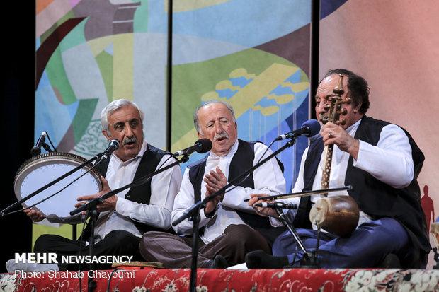 Iranian regional music performance at 34th Fajr Music Festival