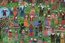 موفقیت کودکان ایرانی در مسابقه نقاشی «بنسکا» بلغارستان