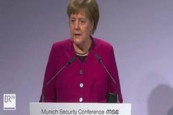Merkel says EU, US have same ultimate goal toward Iran