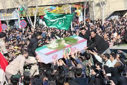 شهدای مدافع امنیت در خور و بیابانک و فلاورجان تشییع شدند