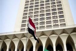 مصر حمله تروریستی خاش را محکوم کرد