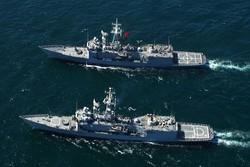 ناوگان روسیه بر مانور دریایی ناتو در دریای بالتیک نظارت می کند