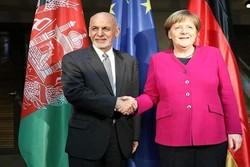 «اشرفغنی» و صدر اعظم آلمان دیدار کردند