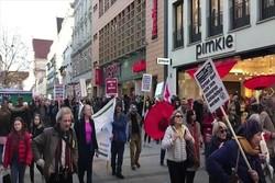 تظاهرات ۴ هزار نفری مخالفان کنفرانس امنیتی مونیخ