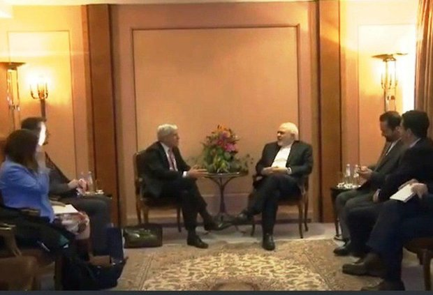 Zarif, Australian security intelligence chief discuss mutual coop.