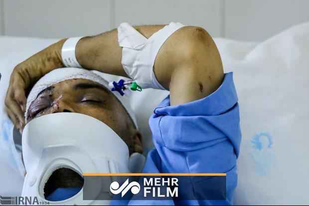 اولین مصاحبه با مجروحین حادثه تروریستی جاده خاش-زاهدان