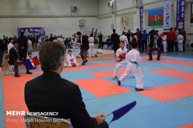 چهارمین فستیوال بین المللی کاراته ایران و آذربایجان در آستارا