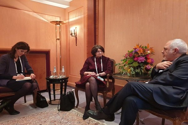 Zarif holds talks with UN under-secretary-general for political affairs
