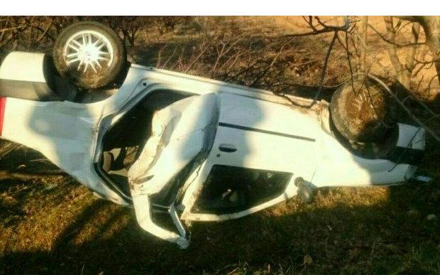 تصادف در زنجان سه فوتی برجای گذاشت