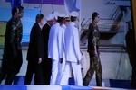 مراسم رونمایی و الحاق زیر دریایی «فاتح» به نداجا آغاز شد