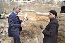 تاکید شهردار منطقه یک تهران بر تعیین تکلیف گودهای پرخطر رها شده