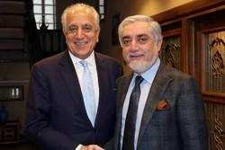 زلمے خلیل زاد کی عبداللہ عبداللہ سے ملاقات