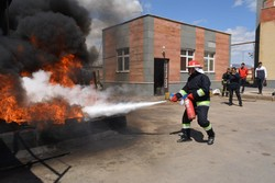 60,000 Tehrani teachers to join fire safety training course