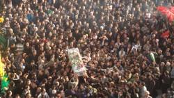 تشییع باشکوه دو شهید مدافع وطن در آران و بیدگل
