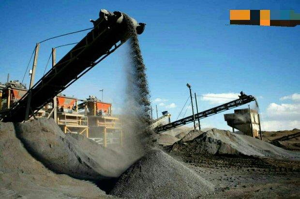 استخراج مواد معدنی در استان بوشهر ۵۵ درصد افزایش یافت