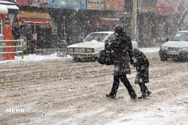 Ardebil under snow