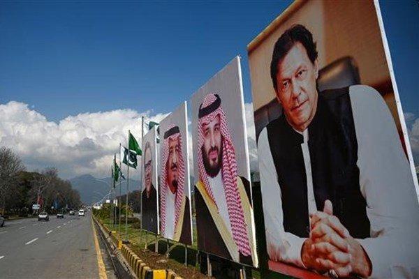 استقبال سرد مردم پاکستان از بن سلمان