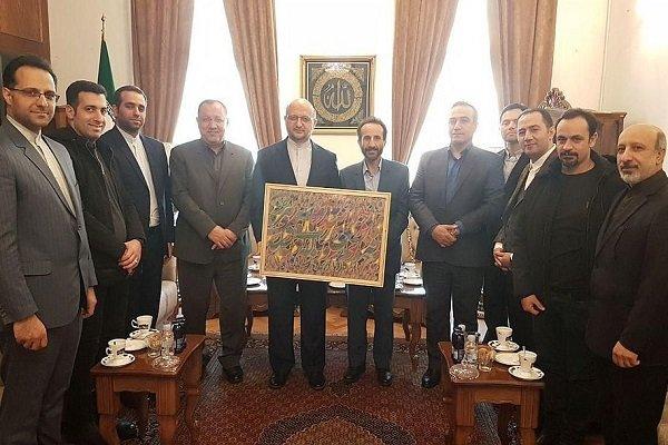Iran, Bosnia share 'artistic, cultural commonalities'