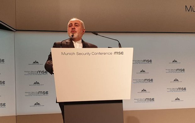 Video: Part of Zarif's speech at Munich Security Conference