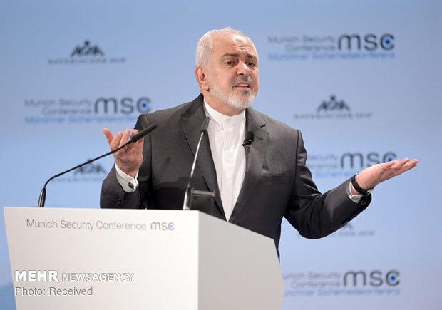 سخنرانی ظریف در کنفرانس امنیتی مونیخ