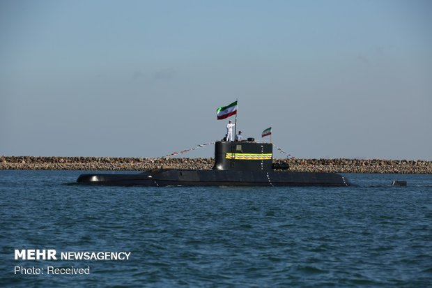 Feteh submarine joining Army's naval fleet