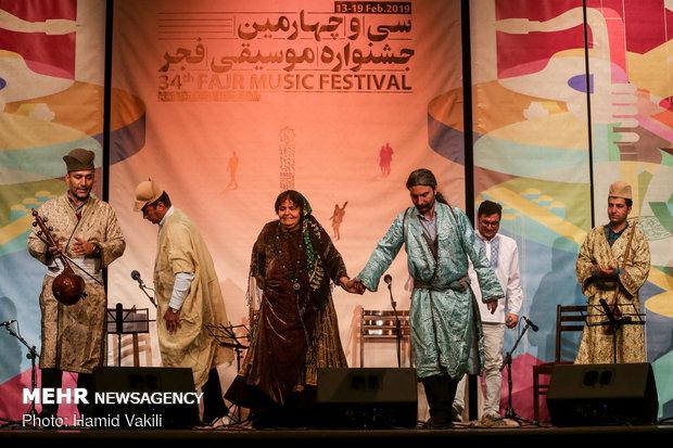 پنجمین روز از سی و چهارمین جشنواره موسیقی فجر در حوزه هنری