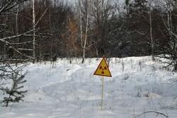 آتش سوزی گسترده در منطقه آلوده به مواد رادیواکتیو در شمال اوکراین